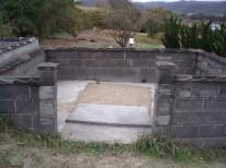 島根県大田市、山﨑組のお墓の解体、完了